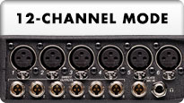 664 12 channel mode